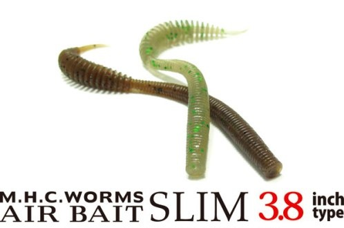 VAGABOND - M.H.C.WORMS AIR BAIT SLIM 3.8 inch
