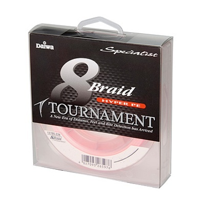 DAIWA - Tournament 8xBraid Pink