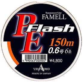 YAMATOYO - PE FLASH 150m.