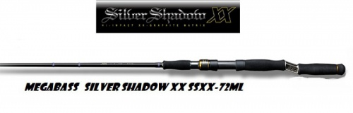 Спиннинг Megabass Silver Shadow XX SSXX-72ML 2.13 m 5 - 28  g одночастный