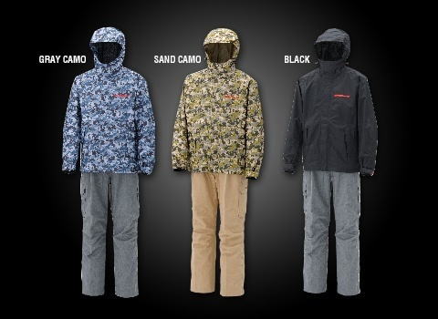 MEGABASS - DEGICAMO RAIN SUITS