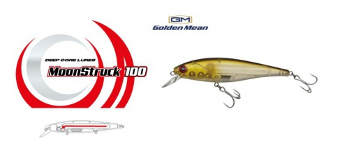 Воблер Golden Mean MoonStruck 100SP