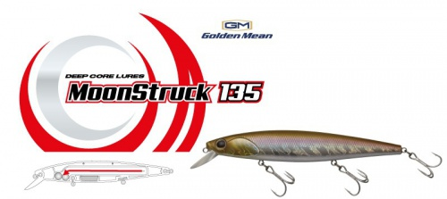 Воблер Golden Mean MoonStruck 135SP