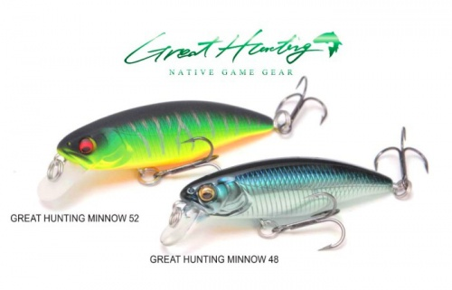 MEGABASS - GREAT HUNTING 52(S)