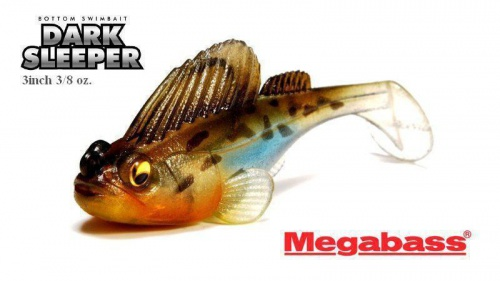 MEGABASS - DARK SLEEPER 3inch (3/8oz.)