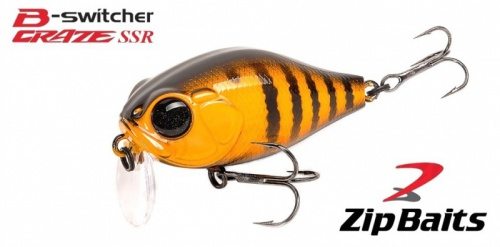 Воблер ZipBaits B-Switcher SSR Craze Rattler