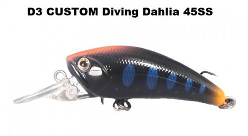 D3 Custom - Diving Dahlia 45SS