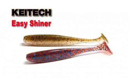 Приманка силиконовая Keitech Easy Shiner 8