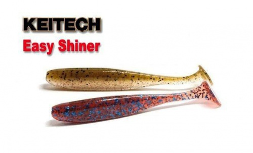 Приманка силиконовая Keitech Easy Shiner 3.5