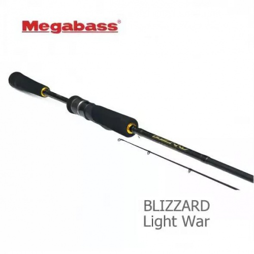 Спиннинг Megabass Blizzard Light War 2,28м.1,7-10гр., 4-10Lb