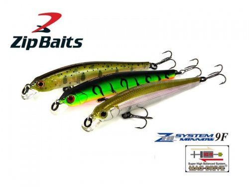 Воблер ZipBaits ZBL System Minnow 9F