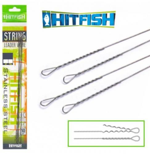 Поводок HitFish String Leader Wire 250 mm