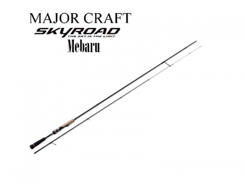 Спиннинг Major Craft SKR-T762M 2.29 м. 0.5-7 гр.