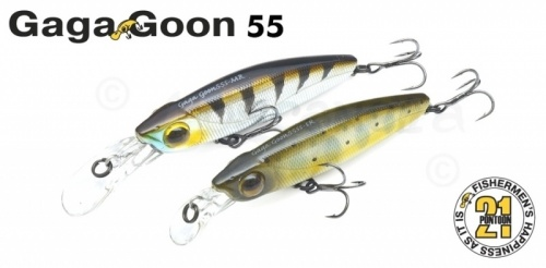 Воблер Pontoon21 GagaGoon 55SS-MR