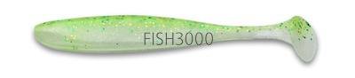 Приманка силиконовая Keitech Easy Shiner 4 PAL 02 Lime Chart Shad