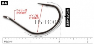 Decoy - Body Hook Worm 23 4 / 0.12g / 9шт.