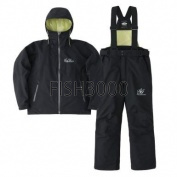 EVERGREEN - E.G. RAIN SUIT EGRW-201 BLACK / BLACK #M(48-50)