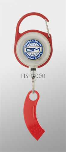 Golden Mean - GM PIN ON REEL X LINE CUTTER RED