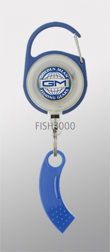 Golden Mean - GM PIN ON REEL X LINE CUTTER BLUE