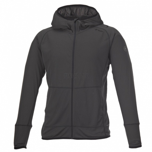 TIEMCO/Foxfire - SC Guide Hoodie #L Double grey/smoky