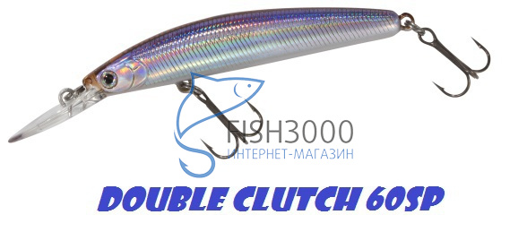 Воблер Daiwa Double Clutch 60SP
