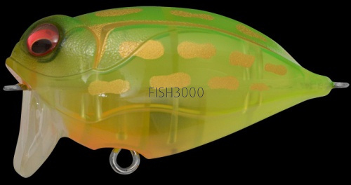 MEGABASS - NOISY CAT FLIPPER CRYSTAL LIME FROG