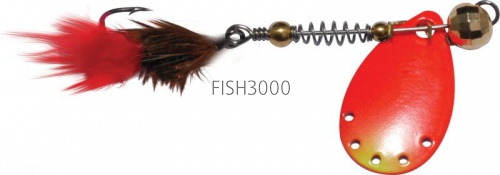 EXTREME FISHING - Indeed Round №00 2.0g G/FluoRed