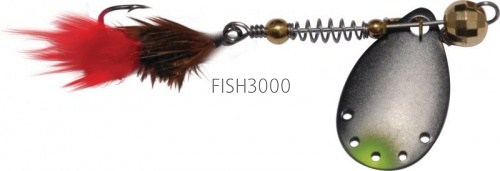 EXTREME FISHING - Indeed Round №000 1.5g G/Black