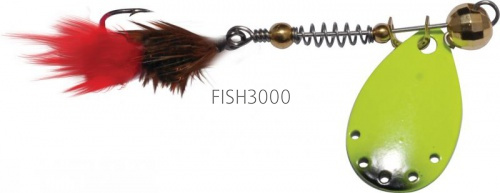 EXTREME FISHING - Indeed Round №000 1.5g G/FluoYellow
