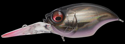MEGABASS - WIGGLE GRIFFON GG DEADLY BLACK SHAD