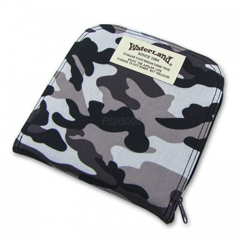Waterland - Box Spoon Wallet Mega Grey Camo