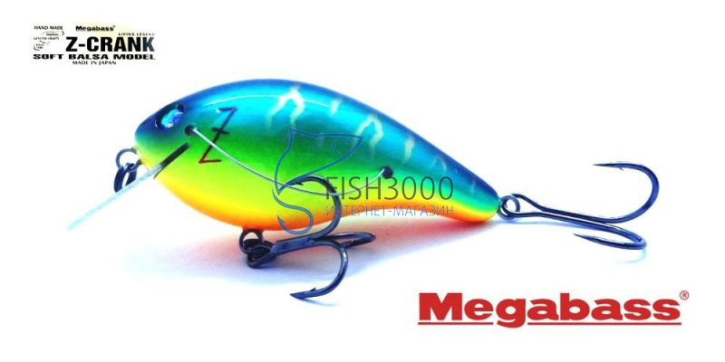 Megabass - Z-CRANK COVER HACKING Jr (BLUE LABEL)