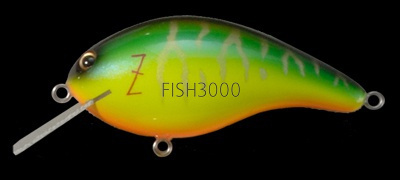 Megabass - Z-CRANK COVER HACKING Jr (BLUE LABEL) HOT TIGER
