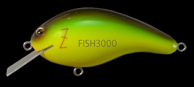 Megabass - Z-CRANK COVER HACKING Jr (BLUE LABEL) IL LIME CHART BROWN
