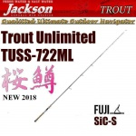 JACKSON - Trout Unlimited TUSS 722ML (NEW)