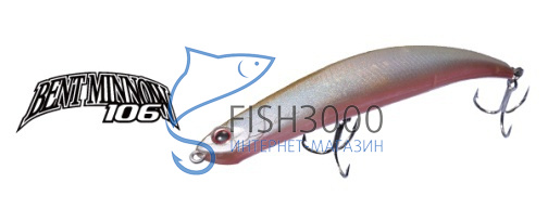 O.S.P - BENT MINNOW 106 Bentbait